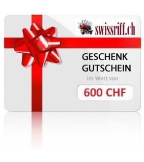 Gutschein 600 CHF